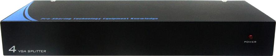 AviewS-4 PORT螢幕分配器/外型金屬材質/PSTEK VP-104