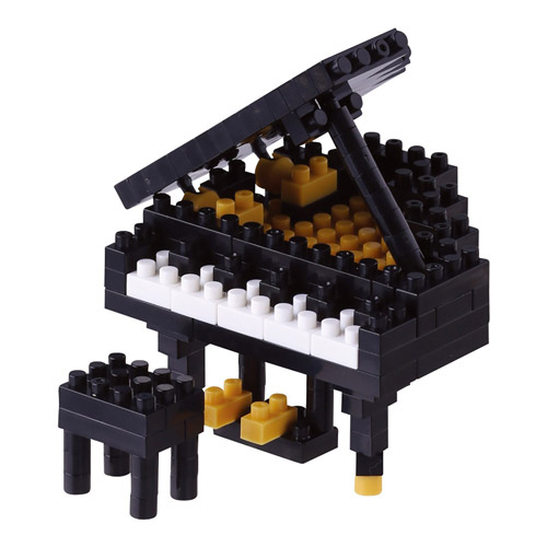 《Nano Block迷你積木》NBC-146 黑鋼琴