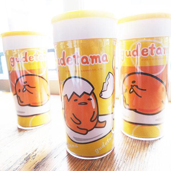 小熊日系 * 正版蛋黃哥輕巧杯 小水杯 杯子 冷水杯 喝茶 200cc隨手杯