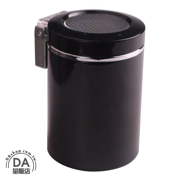 《DA量販店》過年換新 汰舊換新 時尚 煙灰缸 圓桶造型 菸灰缸 適合居家生活 客廳擺飾 (37-687)