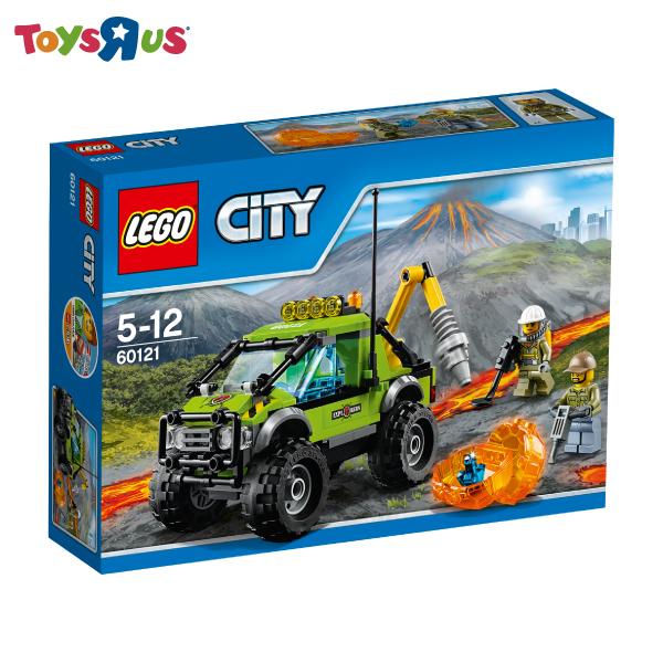 玩具反斗城 樂高 LEGO 火山探險車-60121***