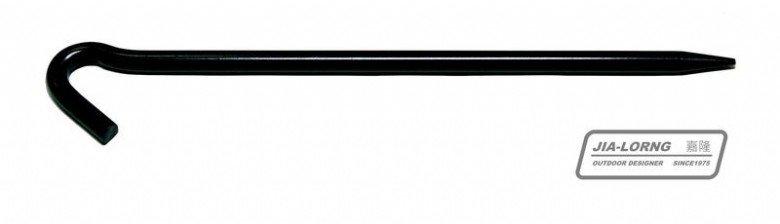 【【蘋果戶外】】嘉隆 R-018 R-20 JIALORNG 大黑釘 營釘(24cm/28cm) 客廳帳 天幕帳可用