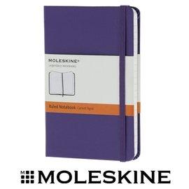 義大利 MOLESKINE 66136422 彩色橫條筆記本/ 紫 /P