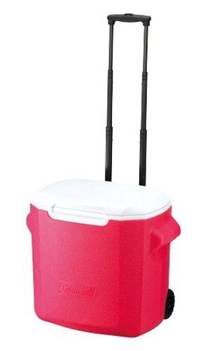 【鄉野情戶外專業】 Coleman |美國| 26L 拖輪冰桶/冰桶 保鮮桶 保冰箱-粉紅/CM-0029JM000