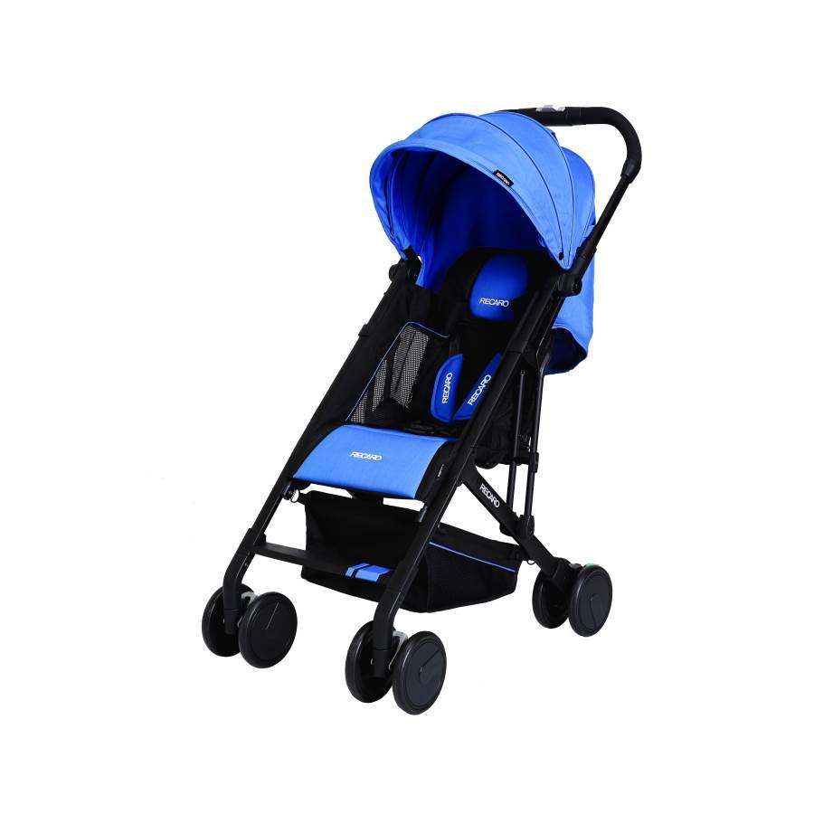 RECARO - Easylife嬰幼兒手推車 (寶石藍) 附原廠背帶一條