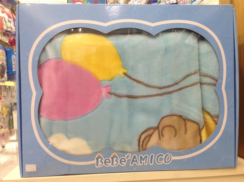 BeBe Amico 爵士熊毛毯 (氣球)