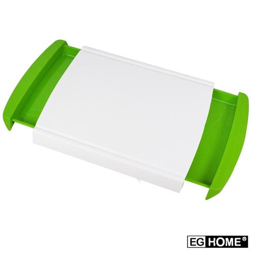 【EG Home 宜居家】多功能抽屜式收納砧板