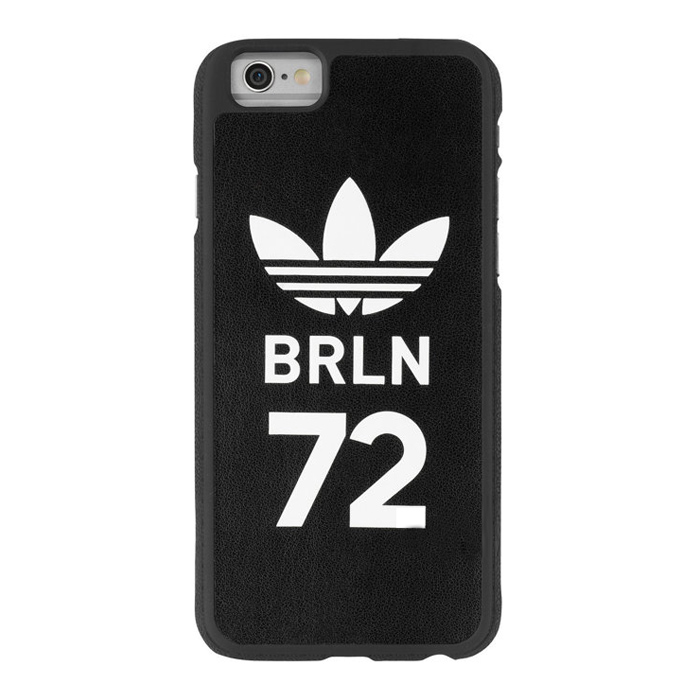 【adidas Originals】4.7吋 iPhone 6/6S BRLN72 復古 皮質保護殼/背蓋/手機套/保護套/手機殼