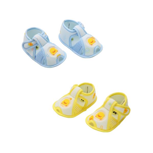 『121婦嬰用品館』黃色小鴨 格狀學步鞋