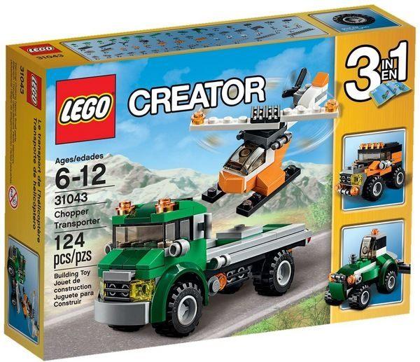 【LEGO 樂高積木】Creator 創意大師系列 - 運輸直升機 LT-31043