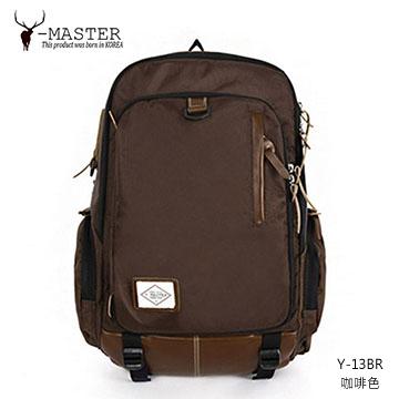 【愛瘋潮】正韓 韓國直送 Y-MASTER 城市探險-15.5吋筆電相機後背包 Y-13BR (咖啡色)