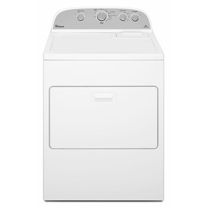 Whirlpool 惠而浦 WGD5000DW ( 瓦斯.上下掀蓋.110V ) 白機美製 12kg 乾衣機
