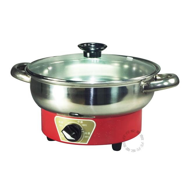 雅瑟2公升不鏽鋼養生火鍋AS-230S