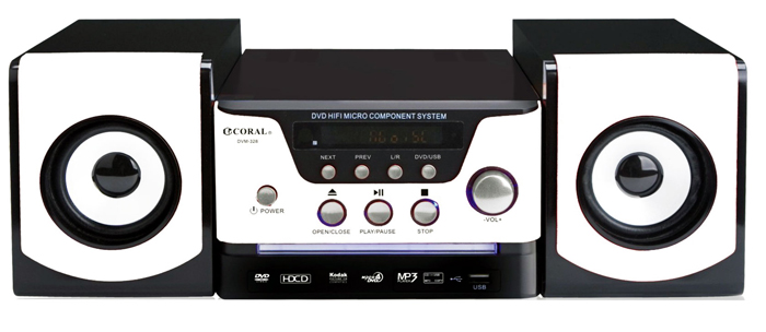 CORAL DVD床頭音響 DVM-328