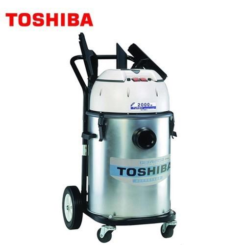 TOSHIBA 東芝 雙渦輪工業用乾濕吸塵器 TVC-1060