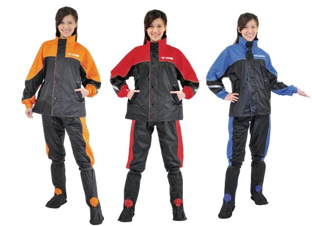 【巷子屋】【JUMP】TV2套裝休閒風雨衣 兩件式 有內裡 [JP-5678] 3色 超值價$990
