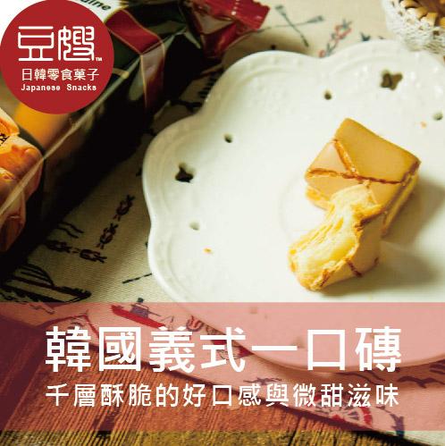 【豆嫂】韓國零食 Samlip Nuneddine 義式焦糖千層一口酥