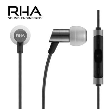 RHA S500i 輕量化入耳式線控耳機 特殊隔音設計 耐用的編織線 三年保固服務