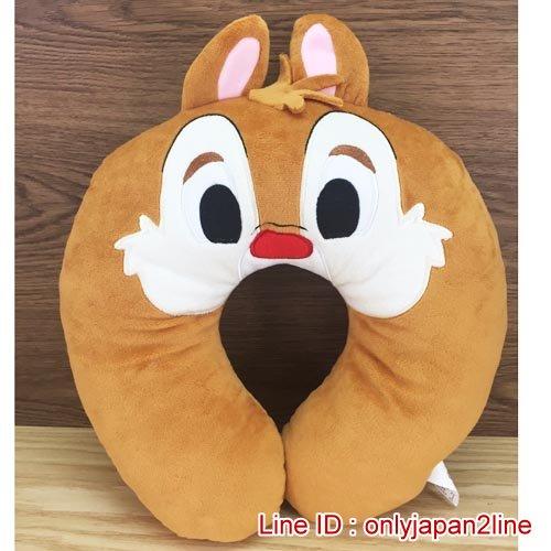 【真愛日本】16120300006造型頸枕-蒂蒂 迪士尼 花栗鼠 奇奇蒂蒂 松鼠 頸枕 枕頭 居家用品 汽車用品