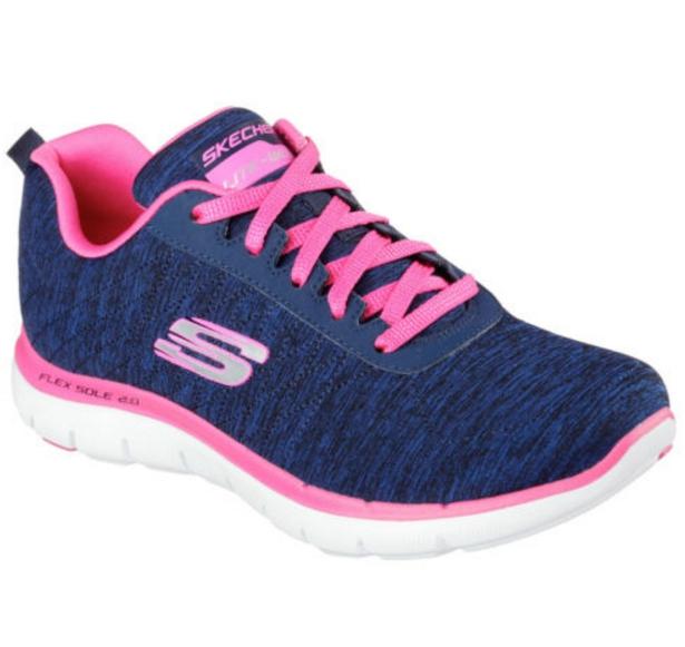 SKECHERS FLEX APPEAL 2.0 女 深藍粉 休閒鞋│運動鞋│健走鞋