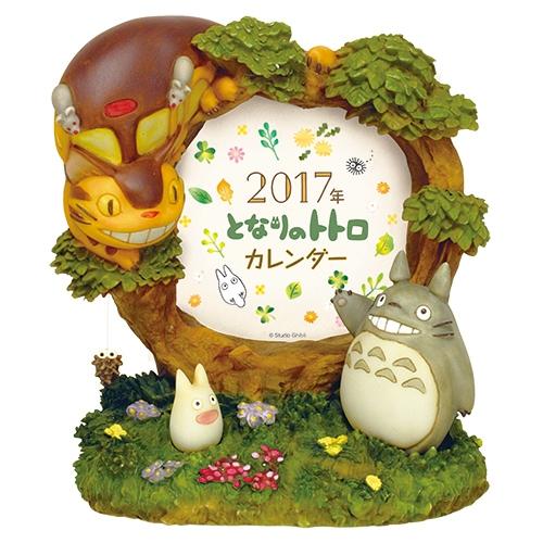 【真愛日本】1610050004017年曆架-龍貓大樹相框  龍貓 TOTORO 豆豆龍  年曆 日曆