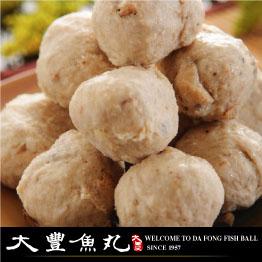 【大豐魚丸】火鍋料鍋物專家--香菇貢丸--600g大份