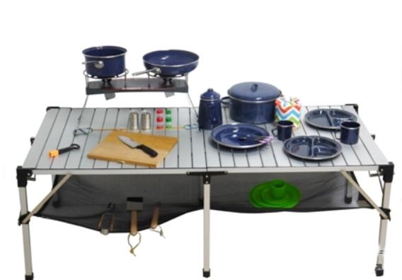 日野戶外~ go sport 92118 大壩鋁捲桌 蛋捲桌 鋁合金桌 露營桌 大型桌 吃飯桌 烹飪桌