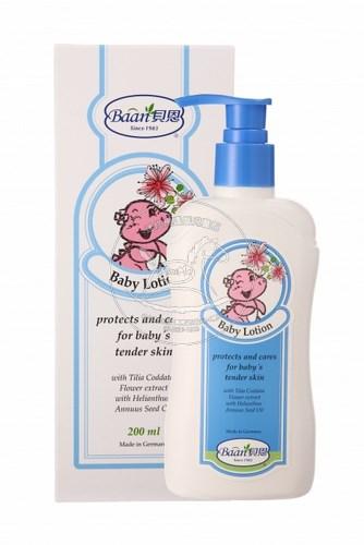 【迷你馬】Baan 貝恩 嬰兒爽膚乳液(200ml) BA0200141-011