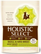 WDJ推薦 鷹格活力滋 Holistic Select 小型成犬 魚加雞低敏挑嘴配方 6LB/6磅