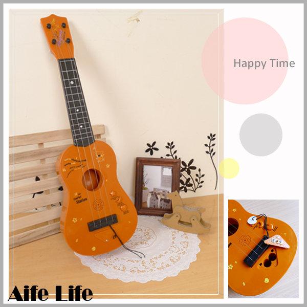 【aife life】烏克麗麗音樂玩具/音樂玩具 兒童學習吉他 吉他 電吉他 ST玩具認證合格