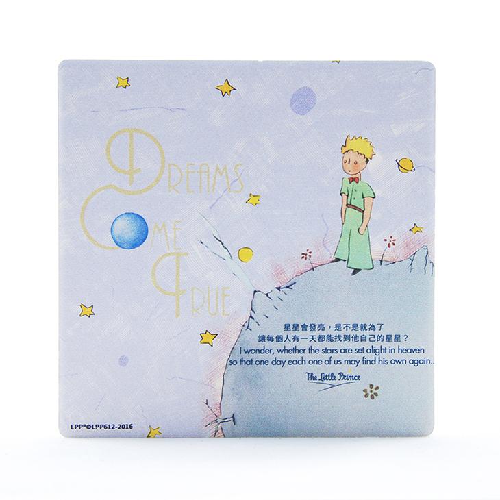 小王子授權系列 - 吸水杯墊:【 Dreams Come True 】 ( 圓 / 方 )