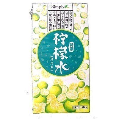 Simply 特濃檸檬水 15包/盒 【淨妍美肌】