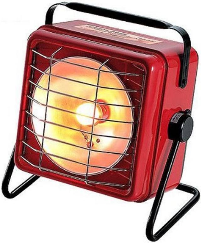 UNIFLAME 方型暖爐/卡式瓦斯暖爐/露營防寒/戶外營地取暖 630020 紅