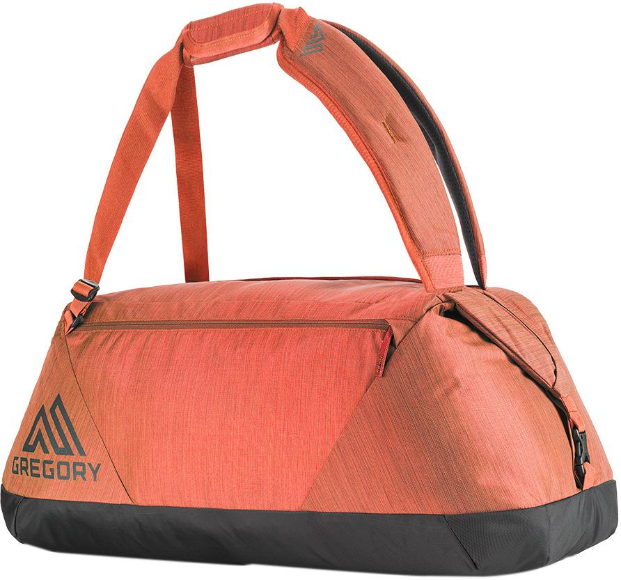 Gregory 旅行袋/裝備袋/行李袋 Stash Duffel 可提可背輕量 45L 75499 紅褐 旅行用品/台北山水