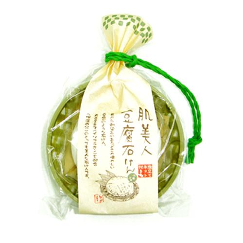 日本製天然肌美人豆腐石鹼130g 001109