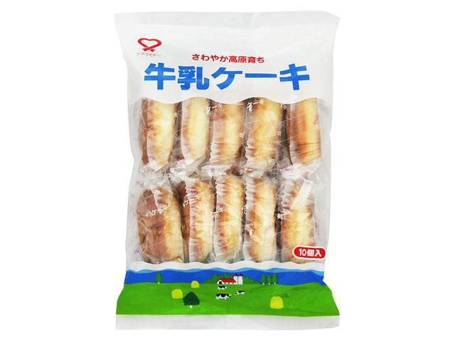 有樂町進口食品 日本幸福堂 牛奶蛋糕 綿蜜香醇180g J100 4933121401097