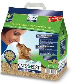 《德國凱優 CAT'S BEST》強效凝結除臭木屑砂 - 黑標 8L