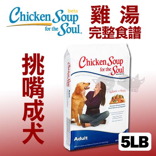 《美國雞湯》挑嘴成犬潔牙 / 抗氧化配方 - 5LB / 狗飼料