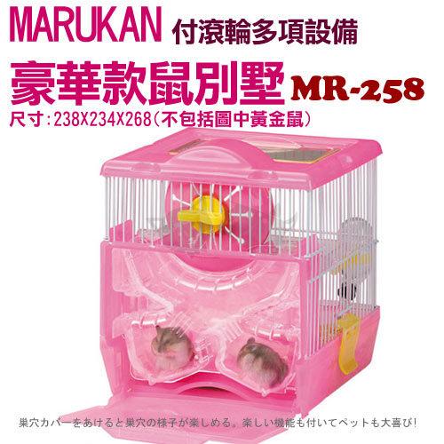 《 日本Marukan 》 豪華款鼠籠鼠鼠飼育套房MR-258附配備 /特價中