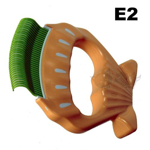 日本超人氣 Philocomb貝殼梳E2 (硬毛用)神奇除毛梳