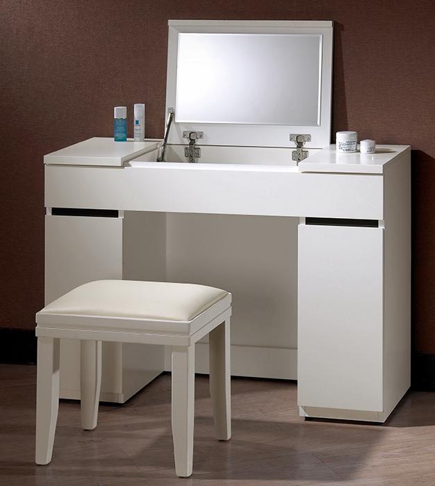 【尚品傢俱】CM-130-5 安格斯3.3尺掀鏡化妝台(含椅)