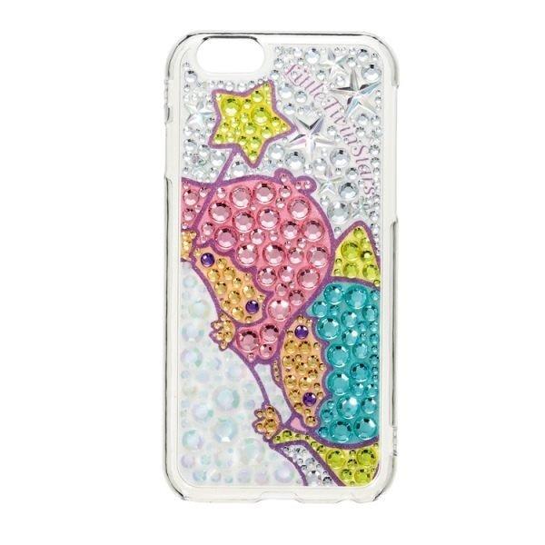 水鑽殼 SUNCREST Twins Stars KIKI&LALA IPhone 6/造型殼/手機殼【馬尼行動通訊】