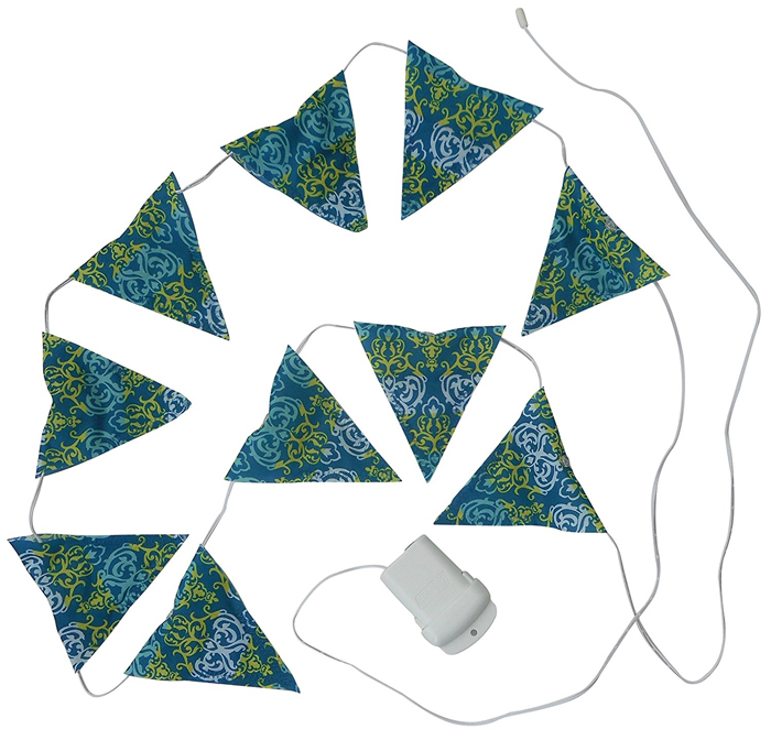 【鄉野情戶外用品店】 Coleman |美國| LED三角串燈/露營三角旗 帳篷燈 裝飾燈/CM-22287M000