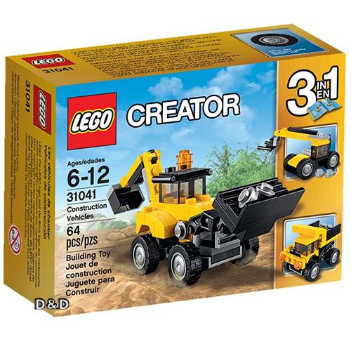 樂高積木LEGO《 LT31041 》2016 年 Creator 創意大師系列 - 施工車輛