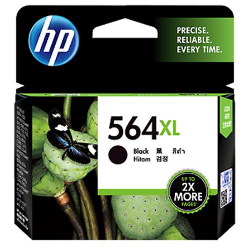 【HP 墨水匣】CN684WA/564XL 原廠大容量黑色墨水匣