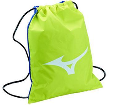 [陽光樂活] MIZUNO 美津濃 多功能簡易背包 束口袋 33TM552045 黃