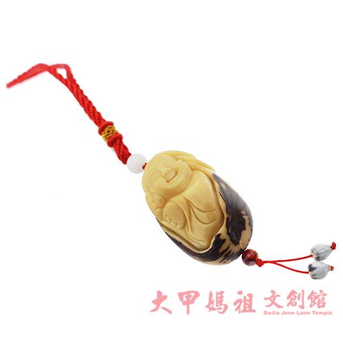 鎮瀾宮象牙果手工雕刻吊飾