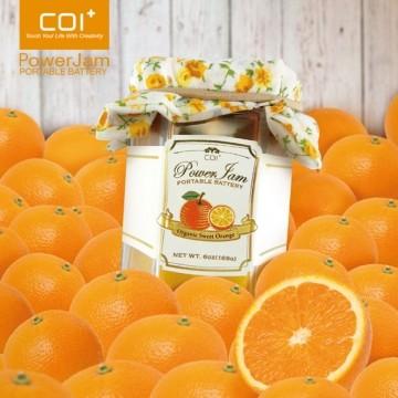 【COI+】PowerJam 果醬罐6000mAh行動電源 甜橙果醬款【葳豐數位商城】