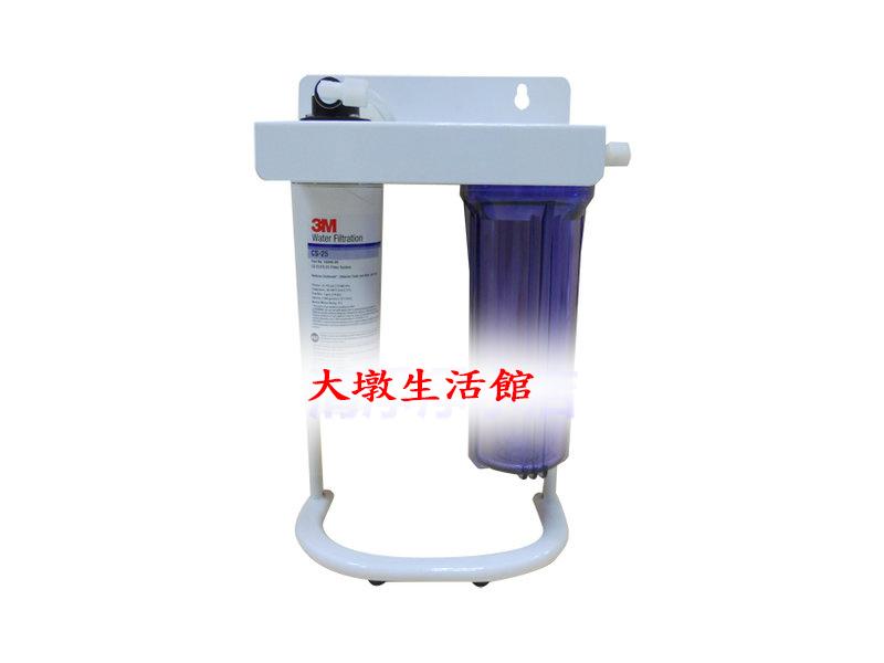 3M CS-25 二道式腳架型淨水器( 除鉛經濟型) (可取代愛惠普S100/S104/S54) 等型號。