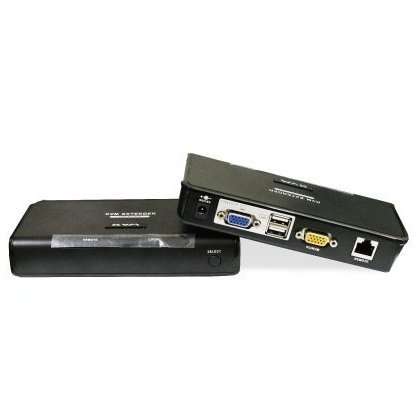 *╯新風尚潮流╭*PANIO USB KVM電腦延長管理器 以CAT5延伸300米 增加安全密碼功能 KE300U